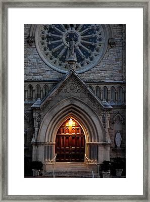 St Annes Church Framed Print by Teresa Blanton