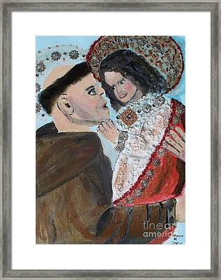 St. Anthony In Amazement Framed Print by Seaux-N-Seau Soileau