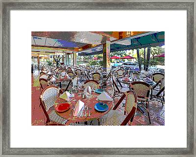 St. Armands Circle Framed Print