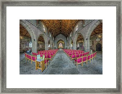 St Asaph Cathedral Framed Print
