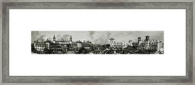St. Augustine Florida 1910 Framed Print by Jon Neidert