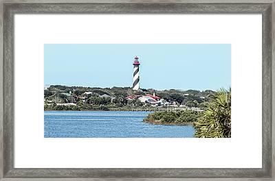 St. Augustine Lighthouse Framed Print