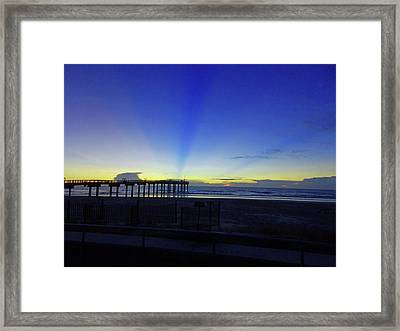 St Augustine Morning Framed Print