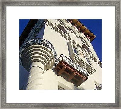 St. Augustine Spanish Colonial Ornate Framed Print by Patricia Taylor