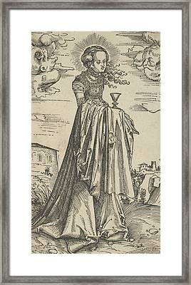 St. Barbara Framed Print