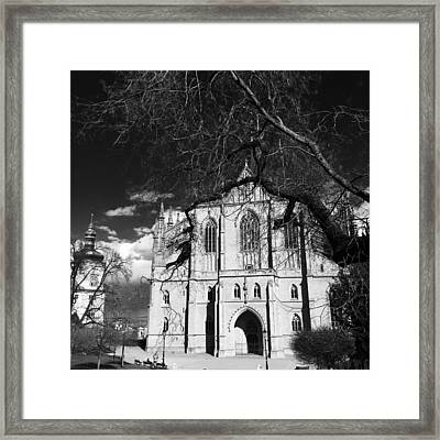 St Barbara Square Framed Print by Charla Dury