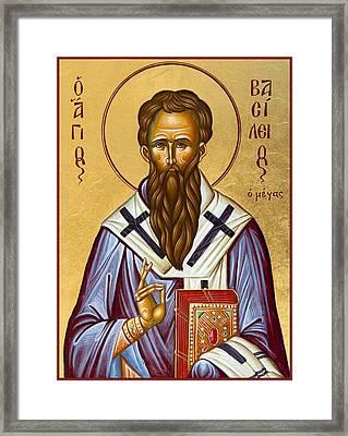 St Basil The Great Framed Print by Julia Bridget Hayes