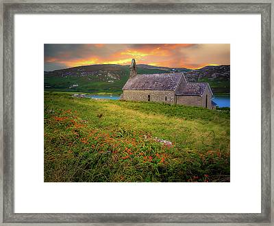 St. Brendan The Navigator Church Of Ireland In Crookhaven Framed Print