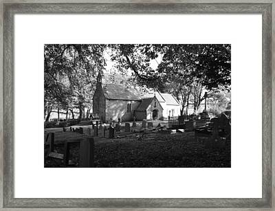 St Canna Church Framed Print by Stephen Jenkins