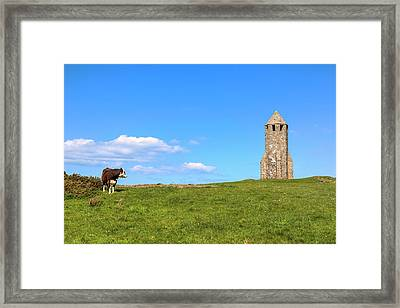 St. Catherine's Oratory -  Isle Of Wight, Framed Print by Joana Kruse