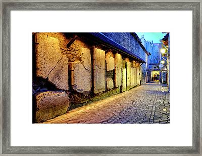 Framed Print featuring the photograph St. Catherine's Passage by Fabrizio Troiani