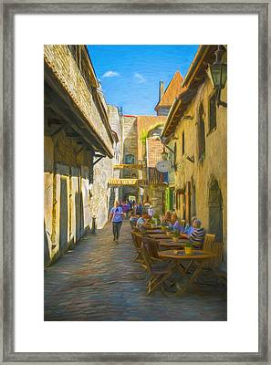 St. Catherine's Passage Framed Print