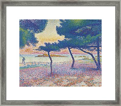 St. Clair Beach Framed Print