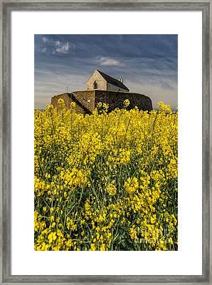 St Cwyfans Church Framed Print by Adrian Evans