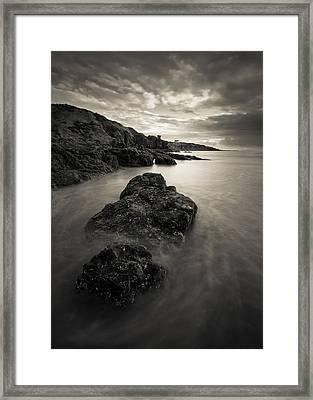 St Cyrus Beach Framed Print