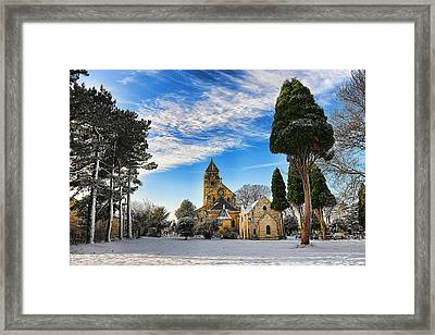 Framed Print featuring the photograph St. Edward by Gouzel -