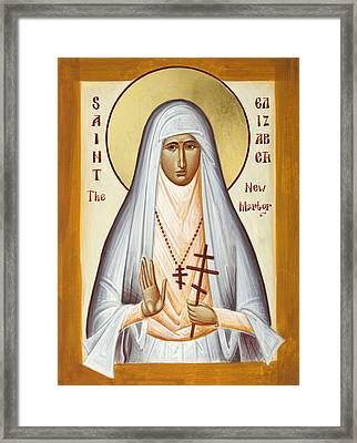 St Elizabeth The New Martyr Framed Print