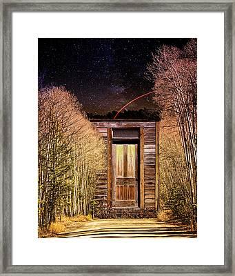 St. Elmo's Door Framed Print