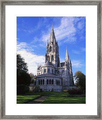 St Finbarrs Cathedral, Cork City, Co Framed Print by The Irish Image Collection