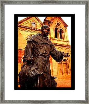 Cathedral Basilica Of St. Francis Of Assisi Framed Print by Susanne Still