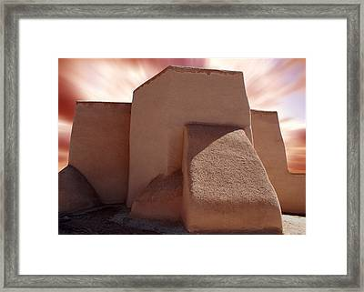 St. Francis Church Digital Framed Print