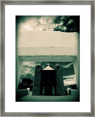 Framed Print featuring the photograph Channeling Ansel by Michelle Dallocchio