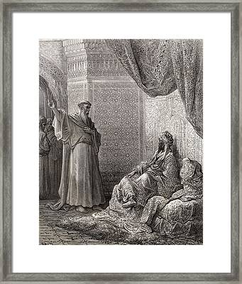 St Francis Of Assisi 1181 1226 Founder Framed Print