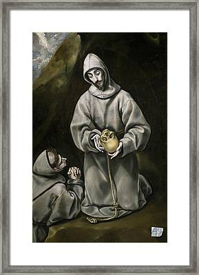 St. Francis Of Assisi Framed Print by El Greco