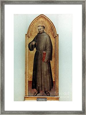 St. Francis Of Assisi Framed Print by Granger