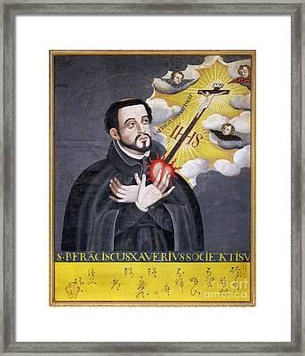 St. Francis Xavier Framed Print by Granger