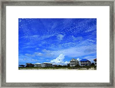 St. George Island Florida Framed Print