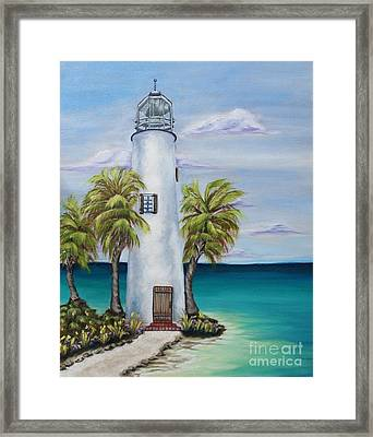 St. George Island Lighthouse Framed Print