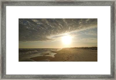 St George Island Sunset I Framed Print
