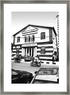 St. Georges Hall, Broad Street Framed Print