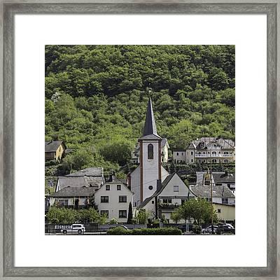 St George Parish Catholic Church Kestert Germany Framed Print