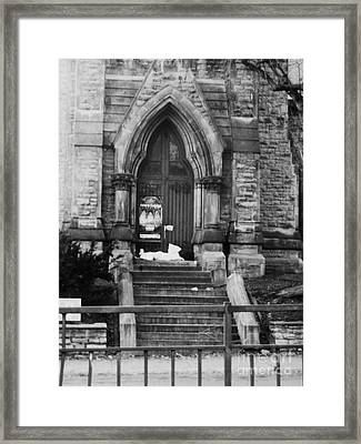 St George Framed Print by Reb Frost