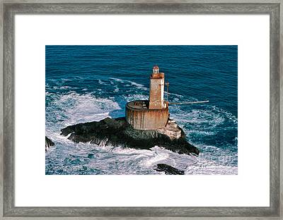 St. George Reef Light Framed Print