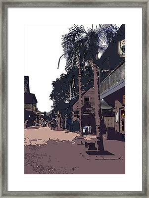 St. George Street Framed Print by Mindy Newman