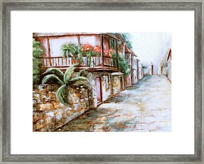 St George Street Framed Print by Patricia Ducher