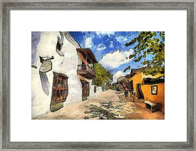 St. George Street Framed Print