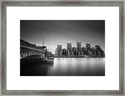 St. George Wharf Framed Print