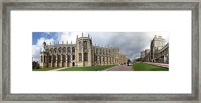St. George's Chapel Framed Print by Gary Lobdell