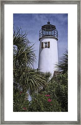 St George's Island Lighthouse Framed Print