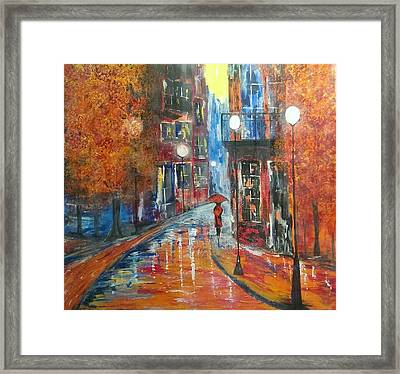 St Germaine Paris Framed Print