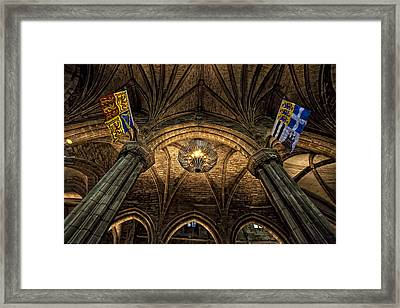 St. Giles Cathedral Framed Print by Jim Dohms