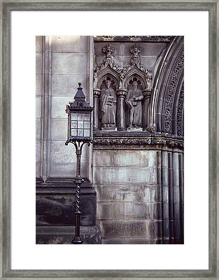 Framed Print featuring the photograph St. Giles Cathedral by Kenneth Campbell