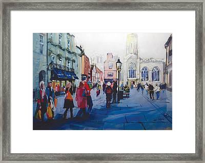 St Helen Square York Framed Print by Neil McBride