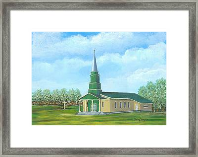 St. Helens - Sacred Ground Framed Print by Shelley Zwingli