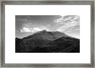 St. Helens Framed Print by Ty Nichols