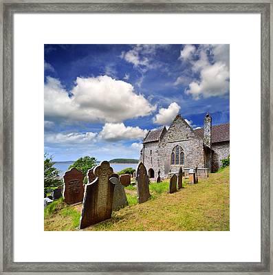 St Ishmael's Church Framed Print